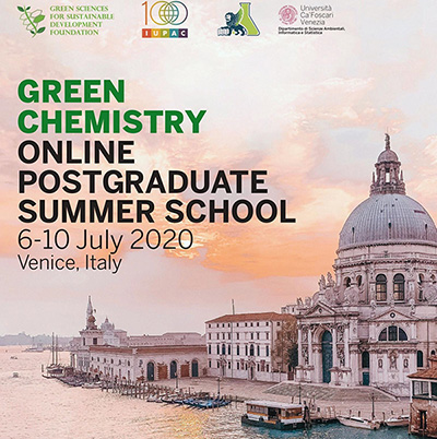 Participation of URD ABI to the online Summer School on Green Chemistry